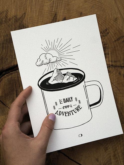 Kunstdruck ADVENTURE CUP