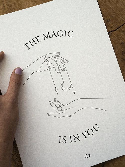 Kunstdruck MAGIC