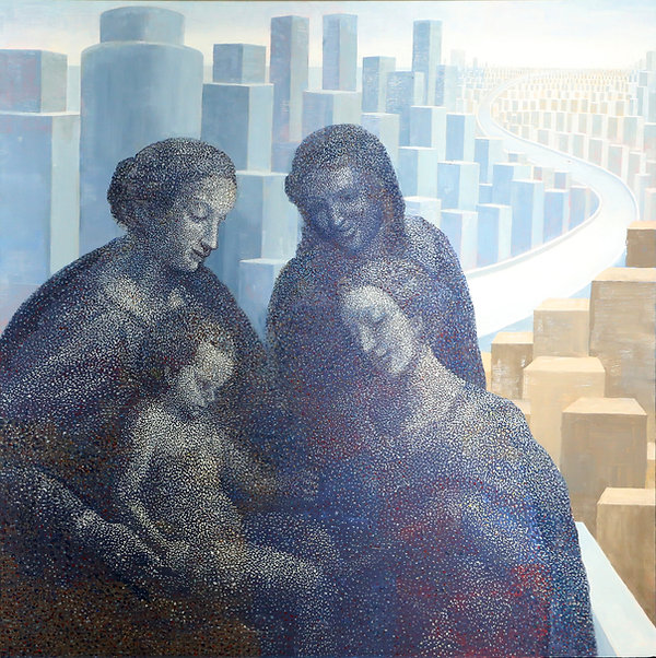 都会の聖家族