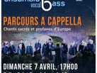 Concerts 2019 – Parcours A Cappella