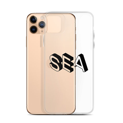 Clear SEA iPhone Case