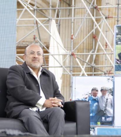 Wilfredo Grajales sacerdote salesiano y director del IDIPRON // Fotografía tomada por Comunicaciones IDIPRON