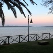 Le Palme Vista Lago Tramonto