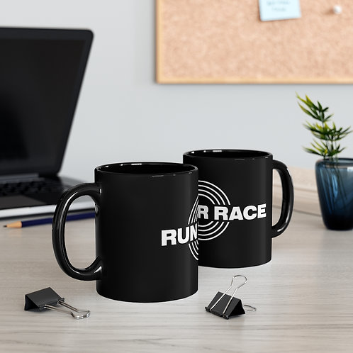 11oz Black Mug