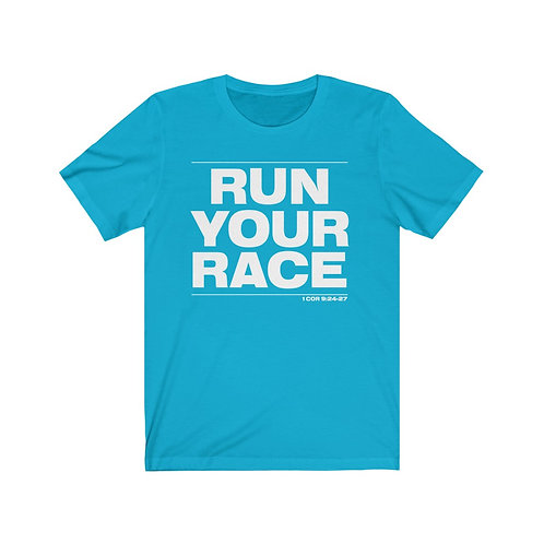 Run Your Race Short Sleeve Tee   (Unisex)