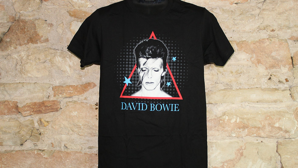 DAVID BOWIE ALADDIN TRIANGLE TEE