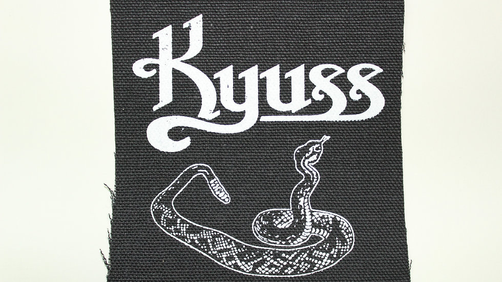 KYUSS SCREENPRINTED PATCH