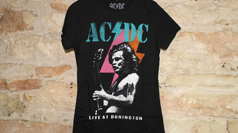 ACDC LIVE AT DONINGTON LADIES TEE
