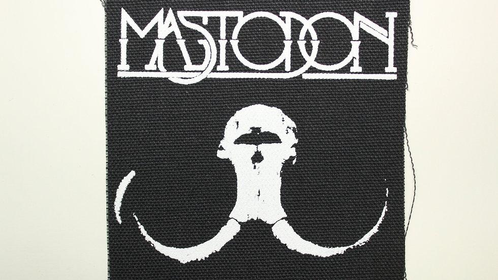 MASTADON SCREENPRINTED PATCH