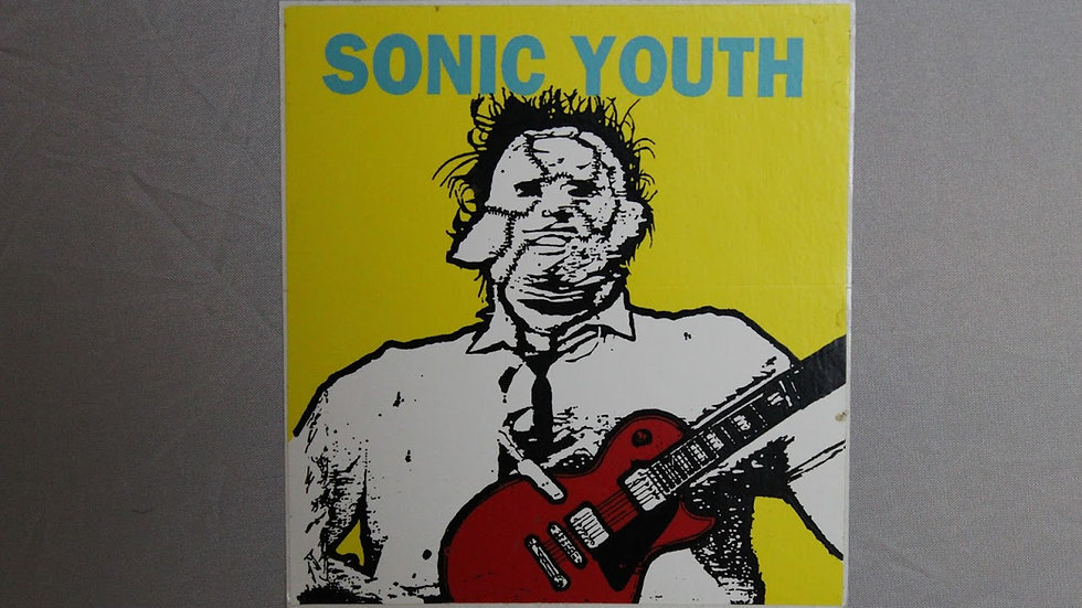 SONIC YOUTH LEATHERFACE STICKER