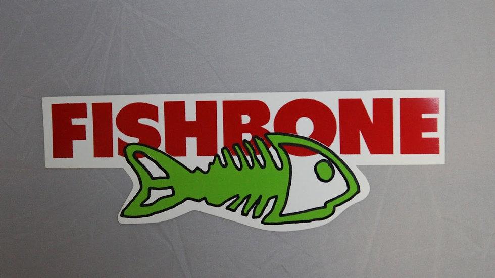 FISHBONE FISH SKELETON STICKER