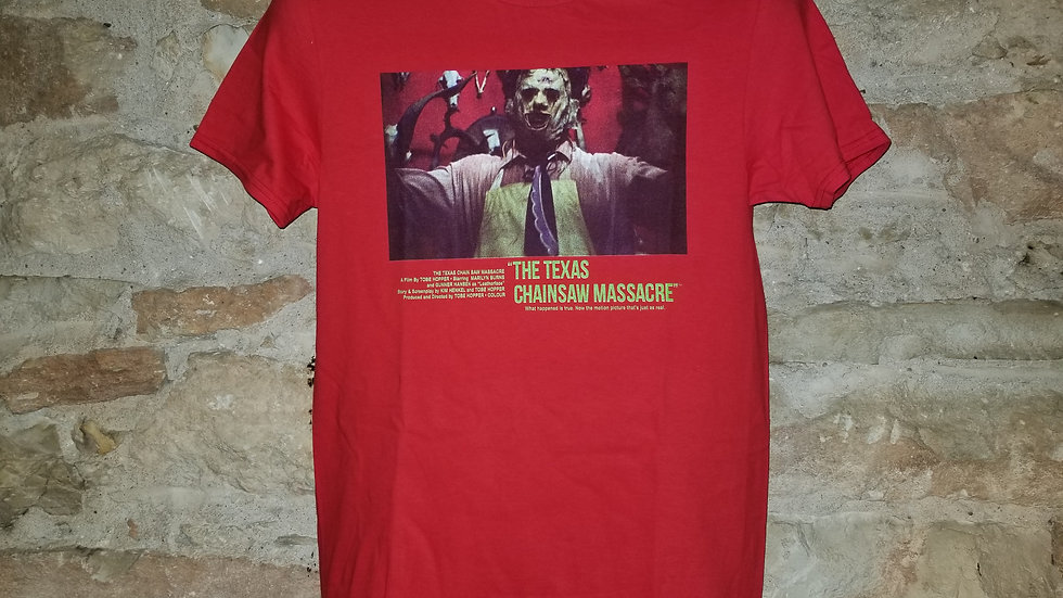 TEXAS CHAINSAW MASSACRE SELFIE TEE