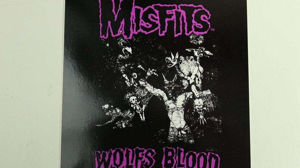 MISFITS WOLFS BLOOD STICKER