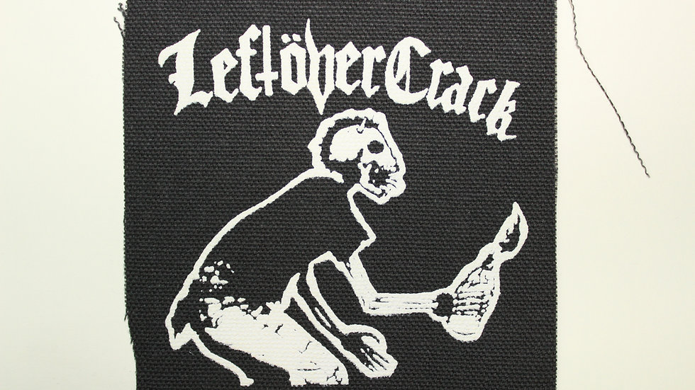 LEFTOVER CRACK MOLOTOV SCREENPRINTED PATCH