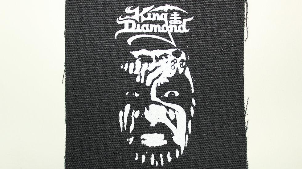 KING DIAMOND SCREENPRINTED PATCH