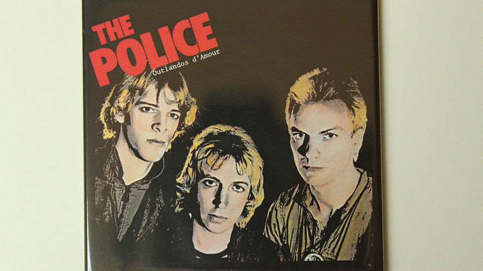 THE POLICE OUTLANDOS D'AMOUR MAGNET