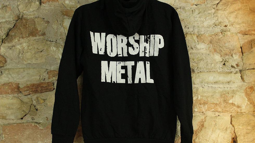 ANTHRAX WORSHIP METAL ZIP UP HOODIE