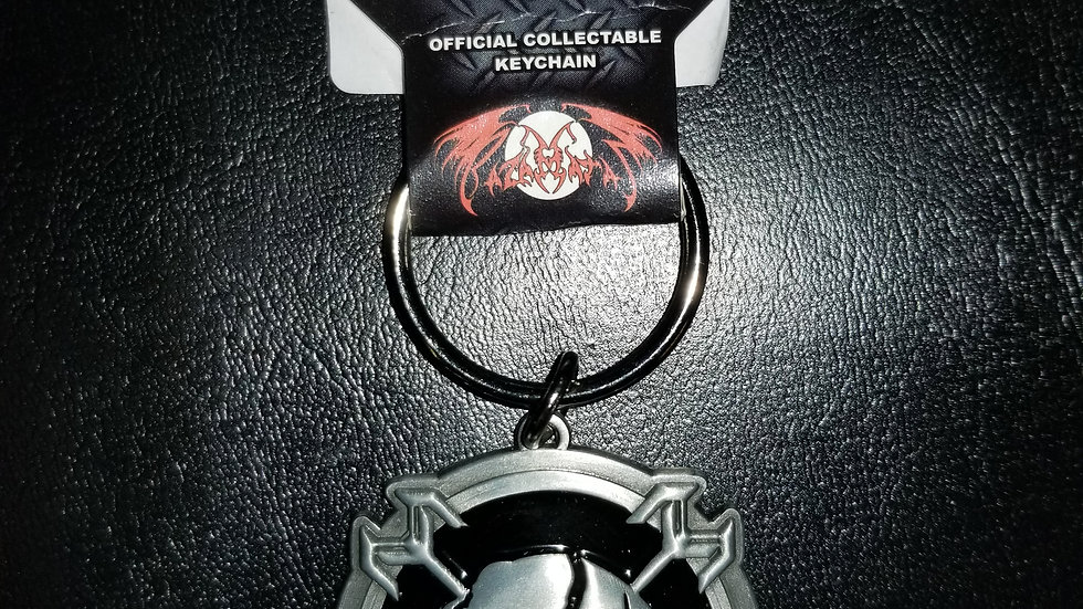 IRON MAIDEN FINAL FRONTIER KEYCHAIN