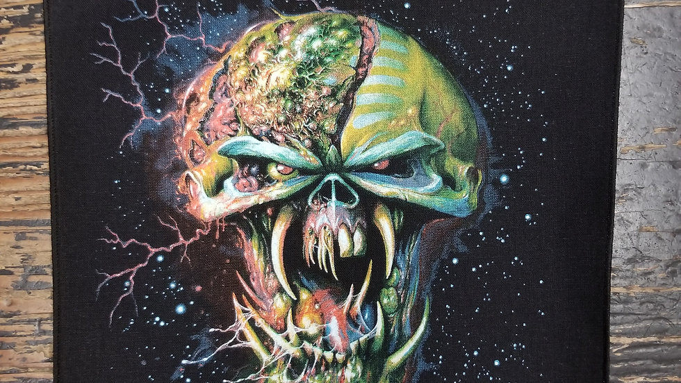 IRON MAIDEN FINAL FRONTIER BACKPATCH