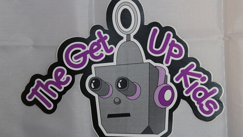 GET UP KIDS ROBOT STICKER