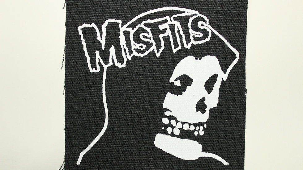 MISFITS SCREENPRINTED PATCH