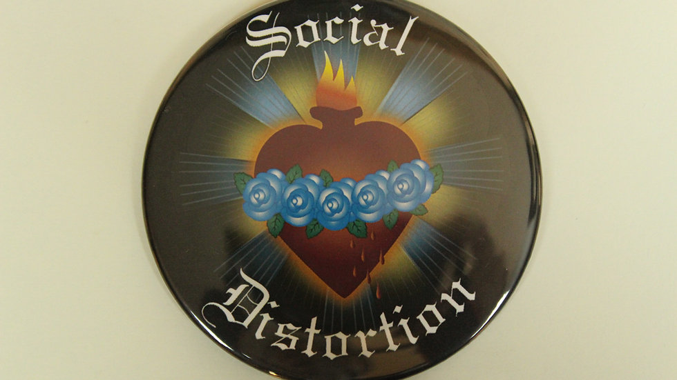 SOCIAL DISTORTION SACRED HEART MAGNET