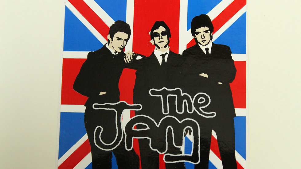 THE JAM UNION JACK STICKER