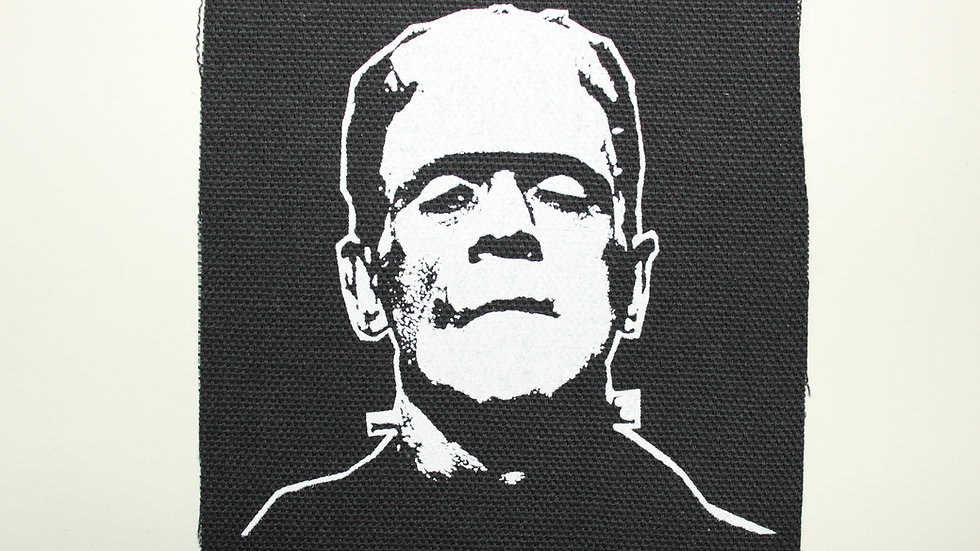 FRANKENSTEIN SCREENPRINTED PATCH