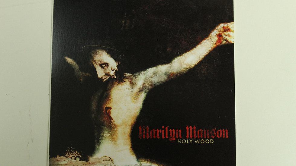 MARILYN MANSON HOLY WOOD STICKER