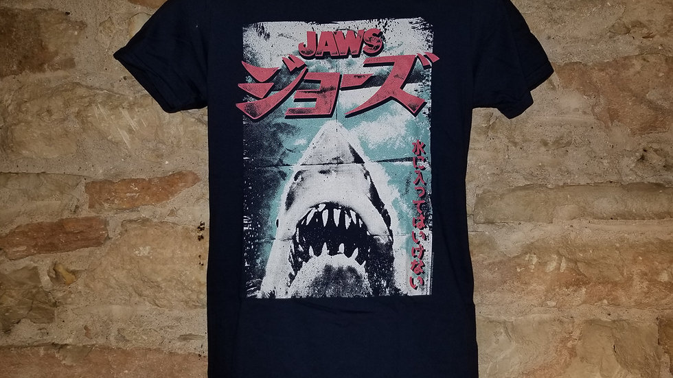 JAWS JAPANESE VINTAGE POSTER TEE