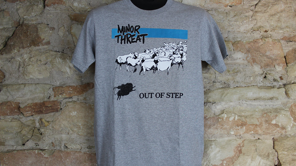 MINOR THREAT BLACK SHEEP TEE
