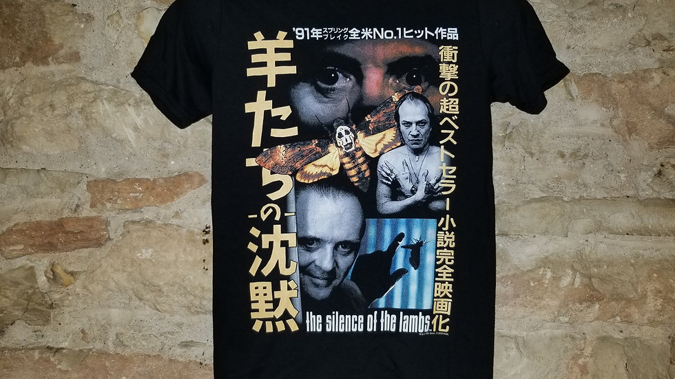 SILENCE OF THE LAMBS JAPANESE POSTER TEE