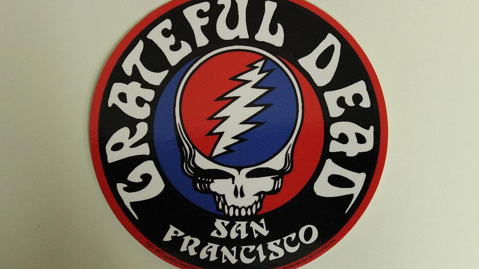 GRATEFUL DEAD SAN FRANCISCO STICKER