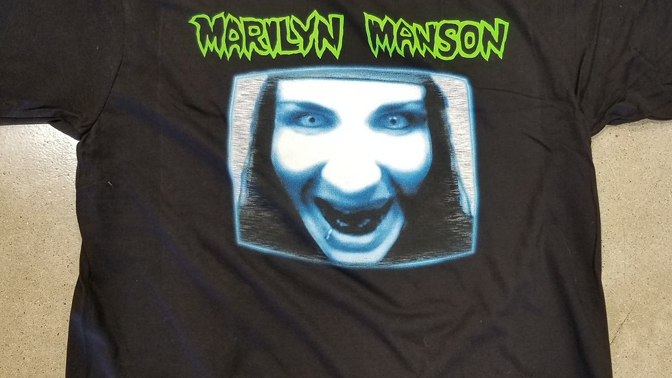 MARILYN MANSON GOD IS IN THE TV SHIRT