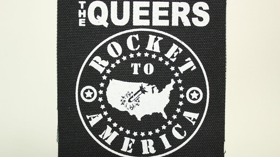 THE QUEERS SCREENPRINTED PATCH