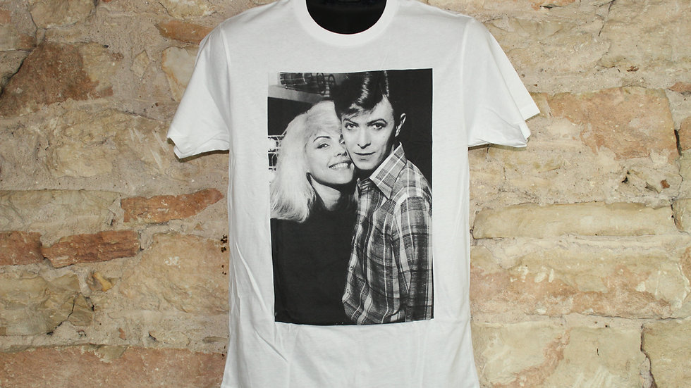 DAVID BOWIE DAVID AND DEBBIE HARRY TEE