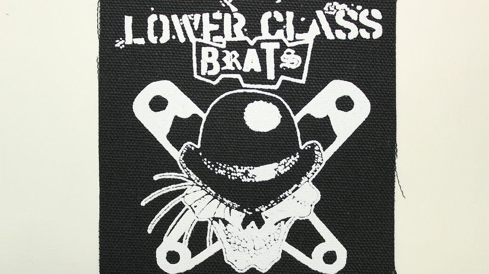 LOWER CLASS BRATS SCREENPRINTED PATCH