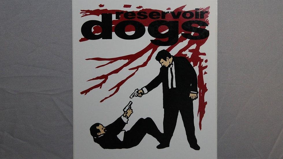 RESEVOIR DOGS STICKER