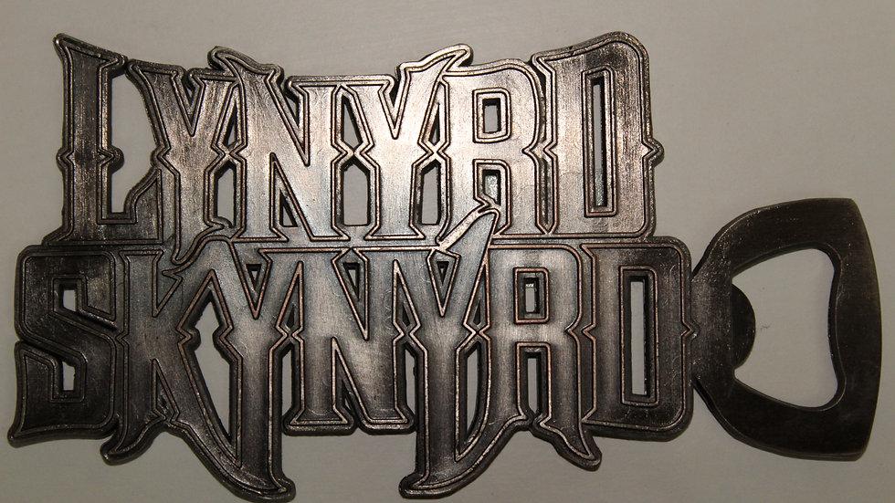 LYNYRD SKYNYRD METAL BOTTLE OPENER