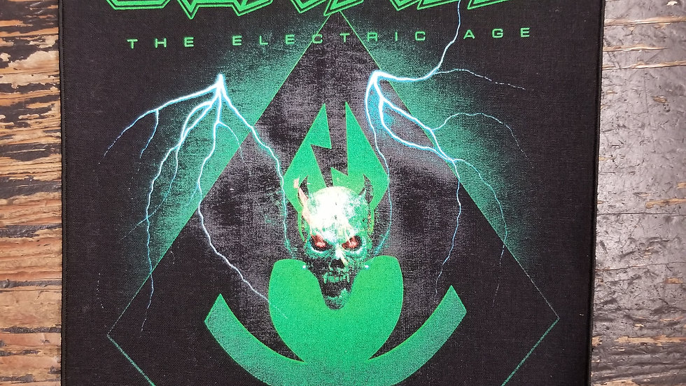OVER KILL THE ELECTRIC AGE BACKPATCH