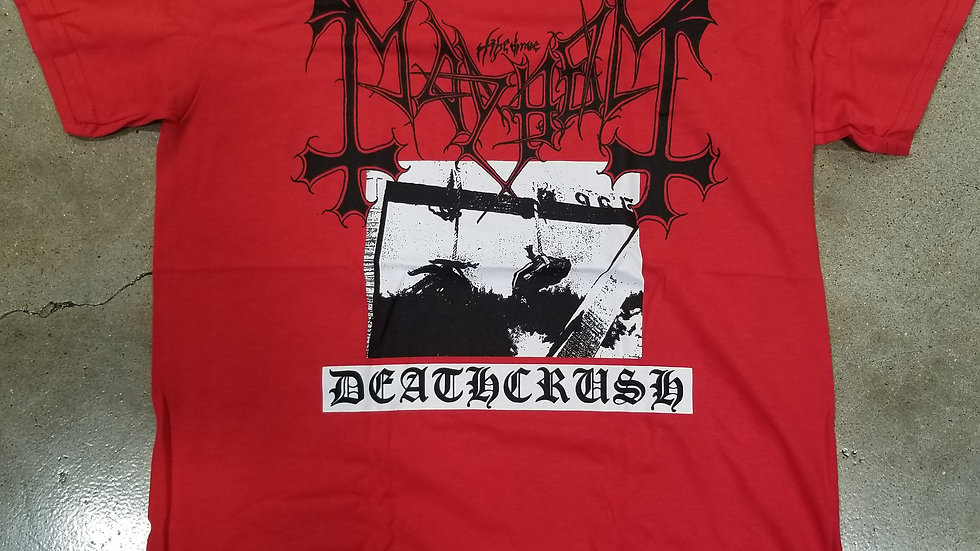 MAYHEM DEATHCRUSH TEE