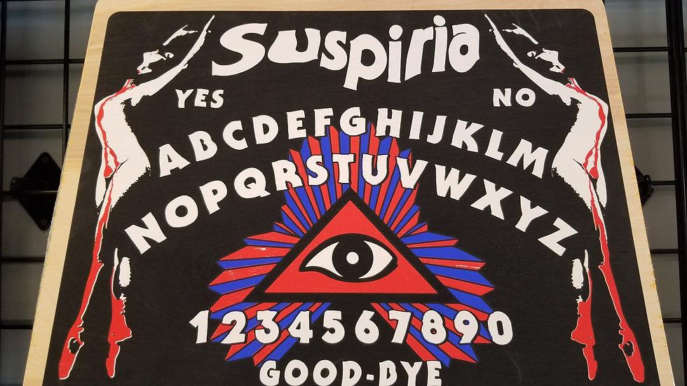 Limited Edition Screenprinted Suspiria Spirit Board
