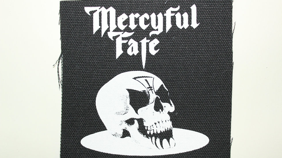 MERCYFUL FATE SCREENPRINTED PATCH