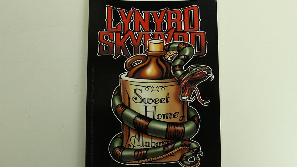 LYNYRD SKYNYRD SNAKEOIL STICKER