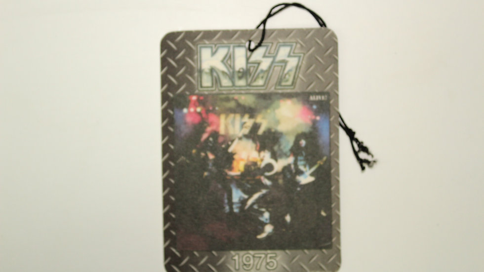 KISS 1975 ALIVE AIR FRESHENER