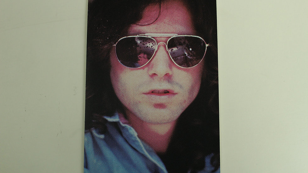 THE DOORS JIM IN SHADES PHOTO STICKER
