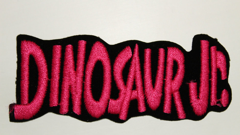 DINOSAUR JR PINK LOGO PATCH