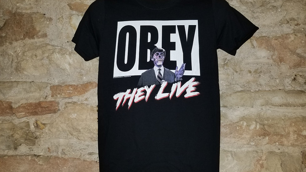 THEY LIVE OBEY TEE