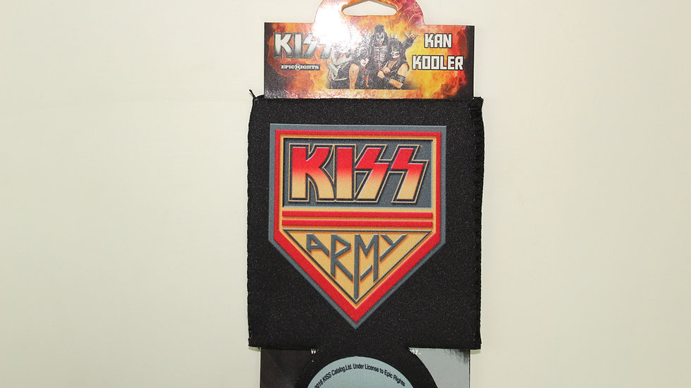 KISS ARMY CAN COOLER