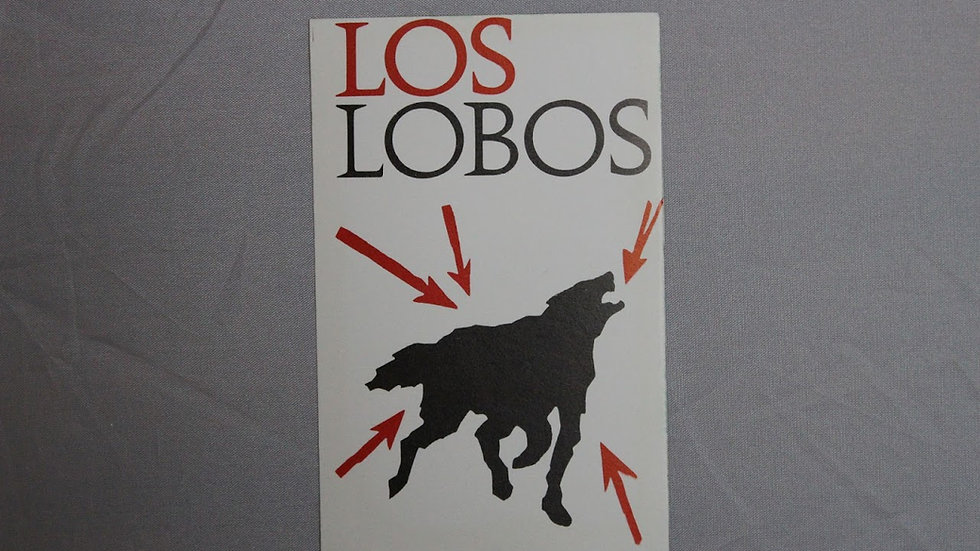 LOS LOBOS STICKER
